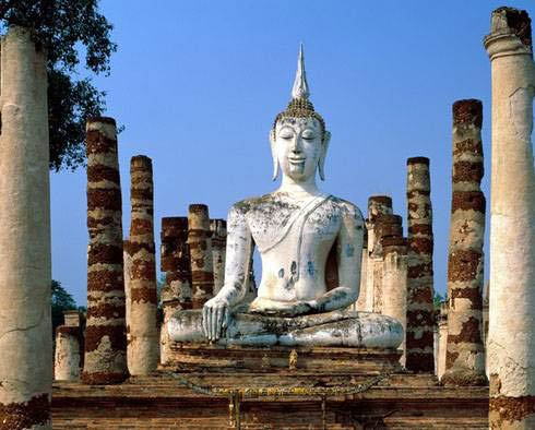 Sukhothai to chiang mai by bike 171 temples amp religion 171 thailand